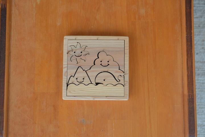 木製パズルのサムネイル