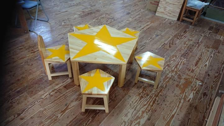 テーブルスター 、チェアスターのサムネイル